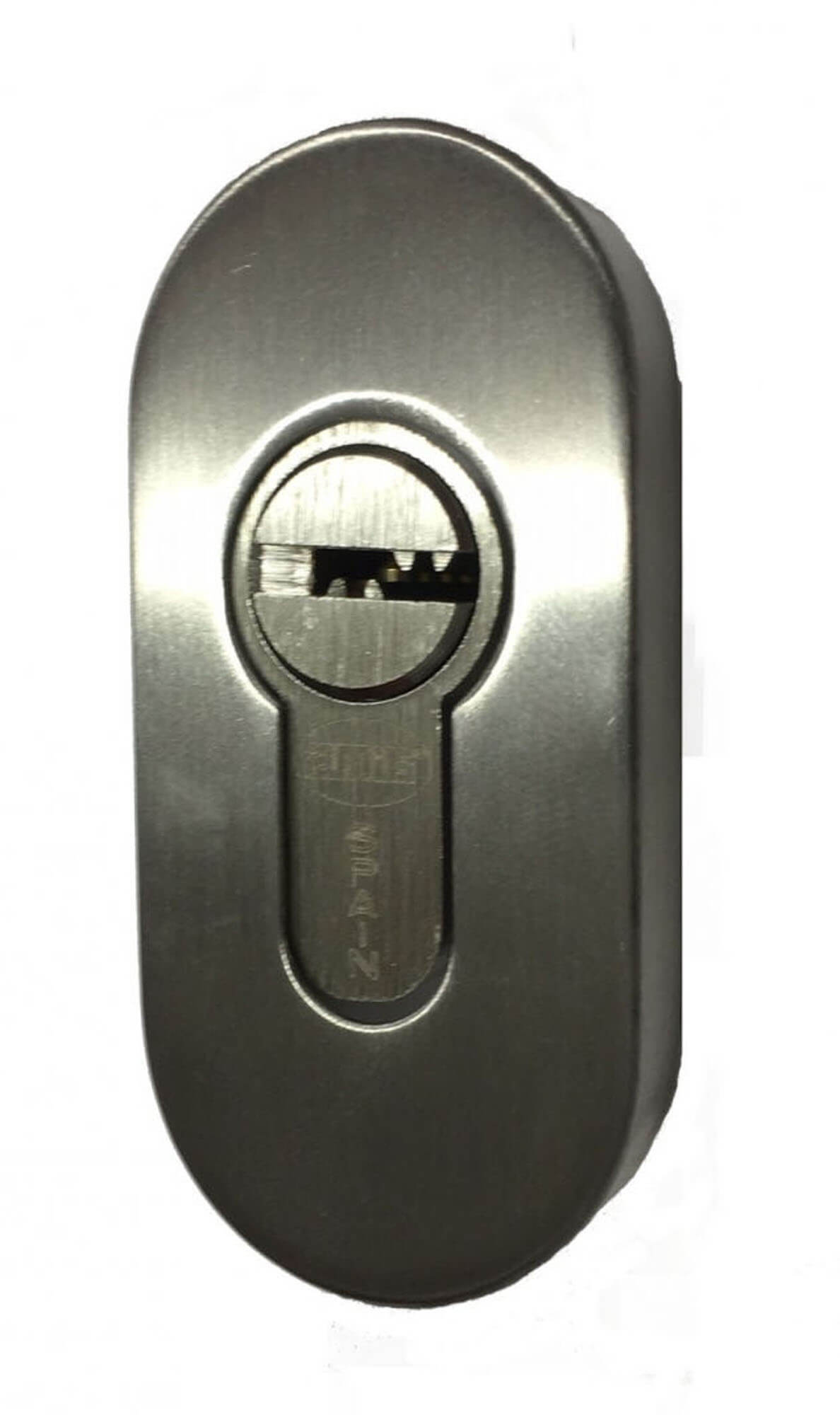 ESCUTCHEON PLATES STAINLESS OVAL