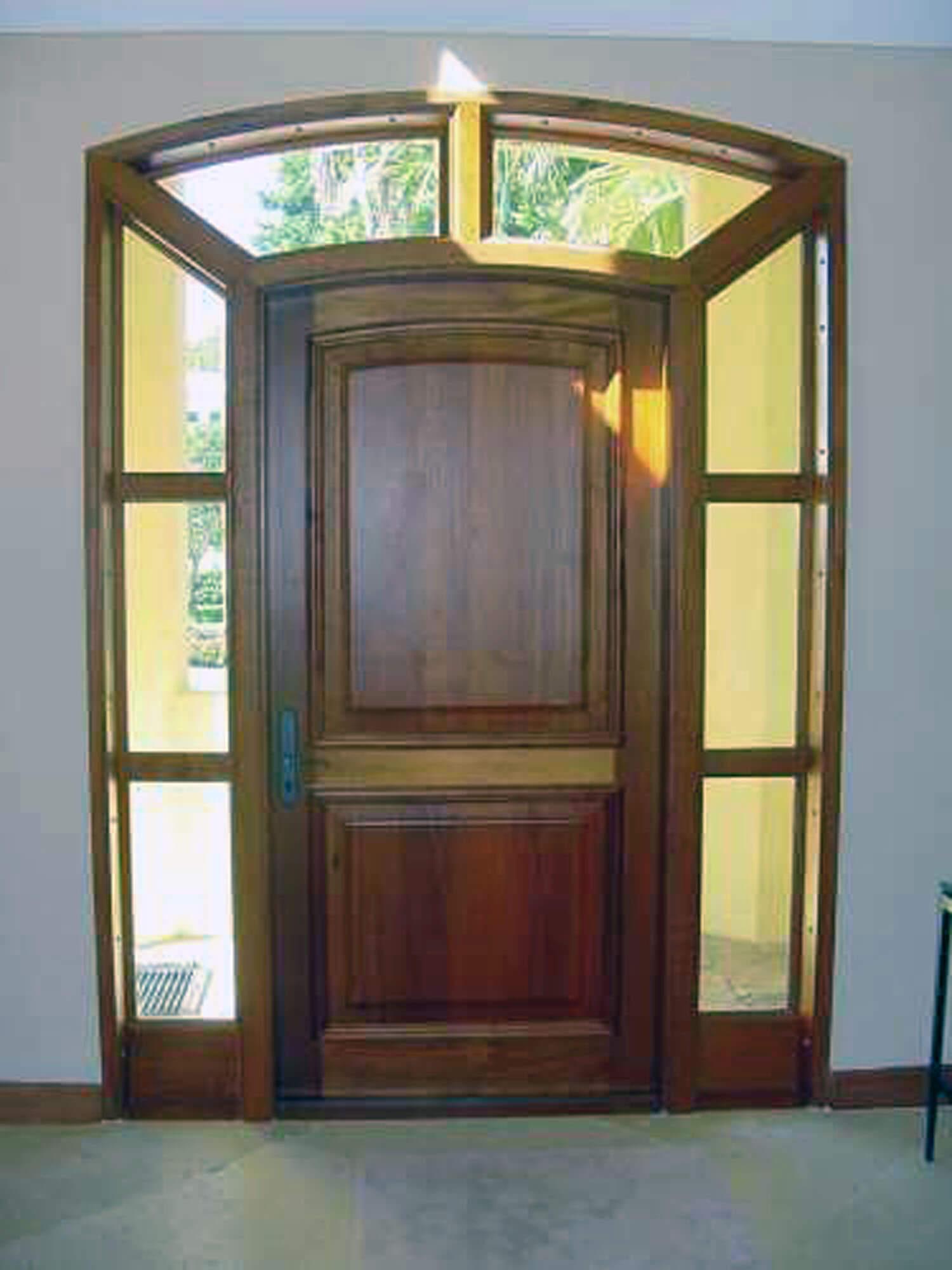 FIESTA KEY IMPACT MAHOGANY DOORS.