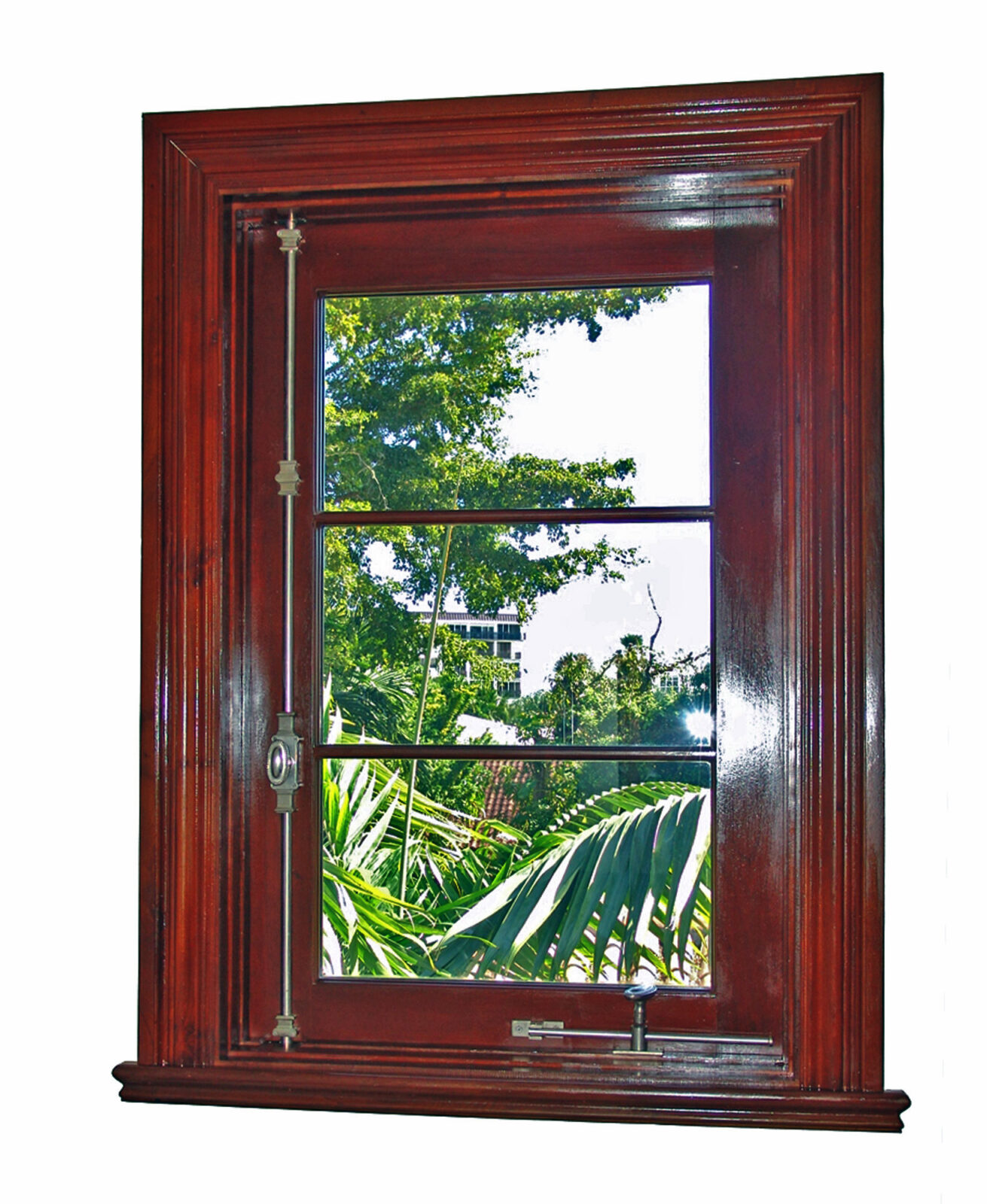GABLES ESTATES MAHOGANY CASEMENT WINDOW