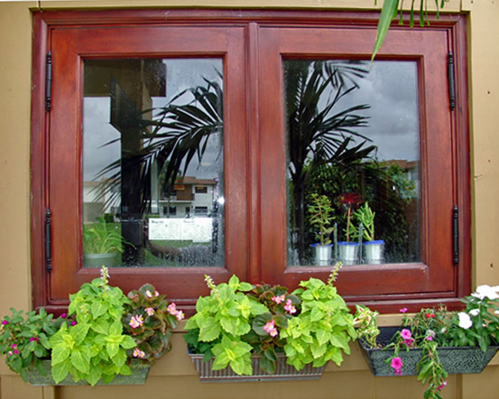 LAKE HOUSE MAHOGANY CASEMENT WINDOWS
