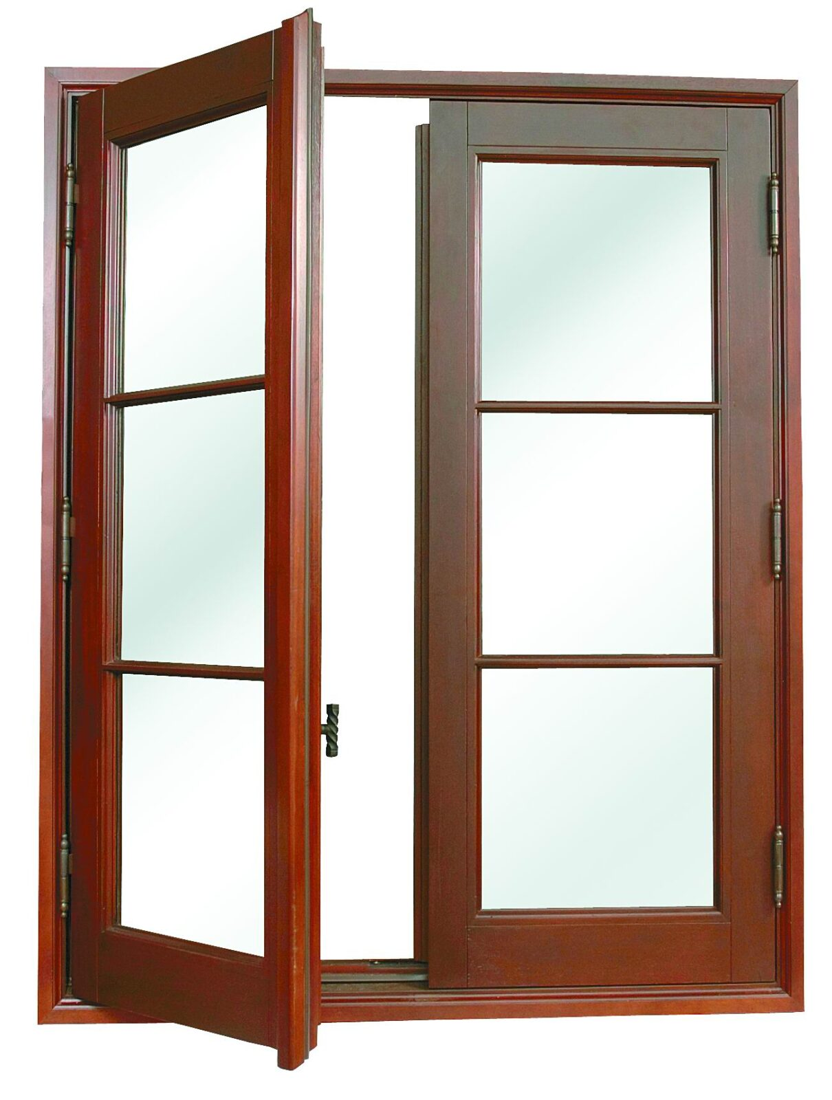 SAN PEDRO MAHOGANY CASEMENT WINDOWS