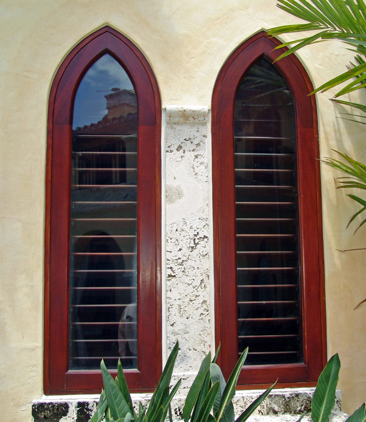 SUNSET ISLAND FIXED ARABESQUE WINDOWS