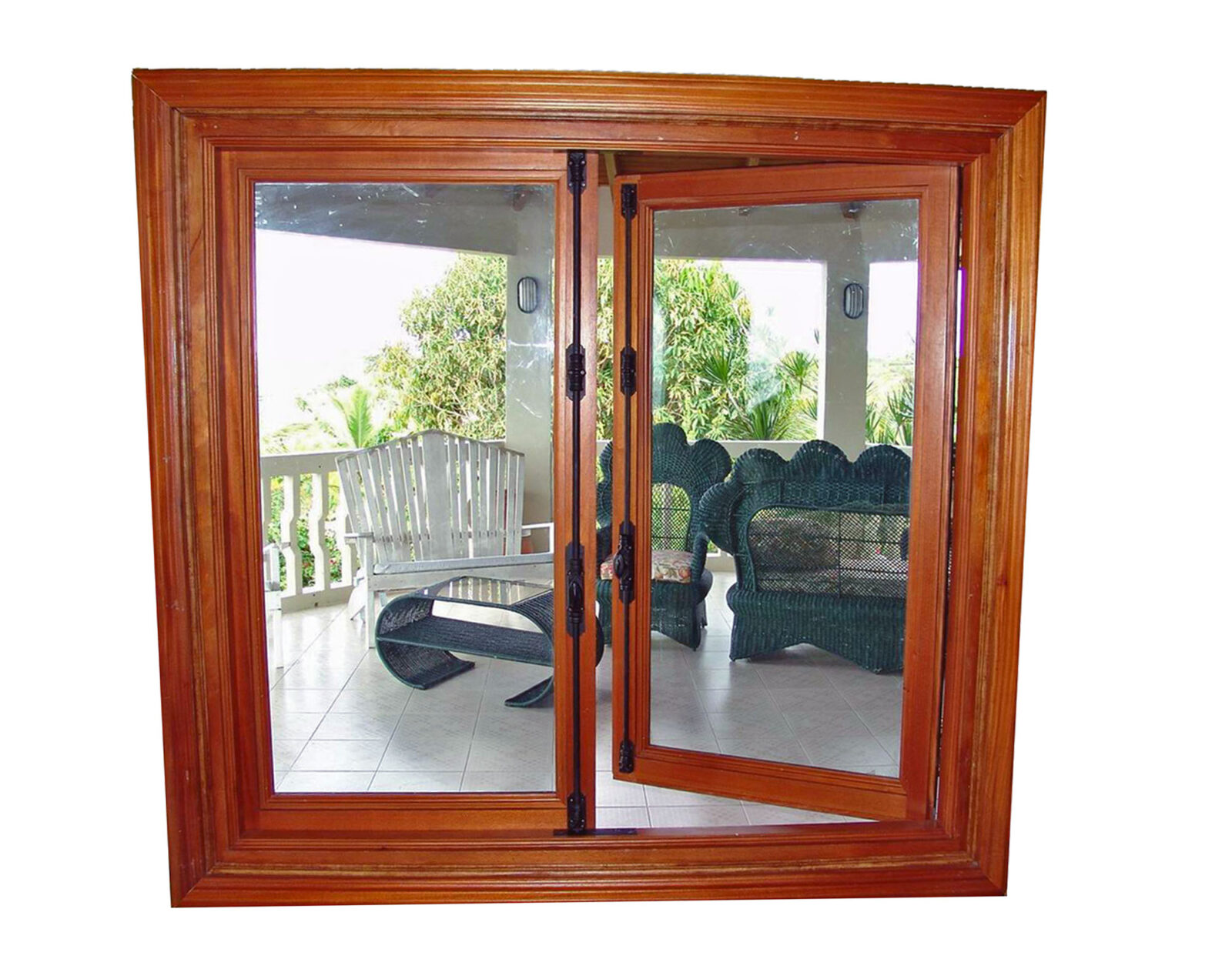 TRUJILLO TRADITIONAL MAHOGANY CASEMENT WINDOWS