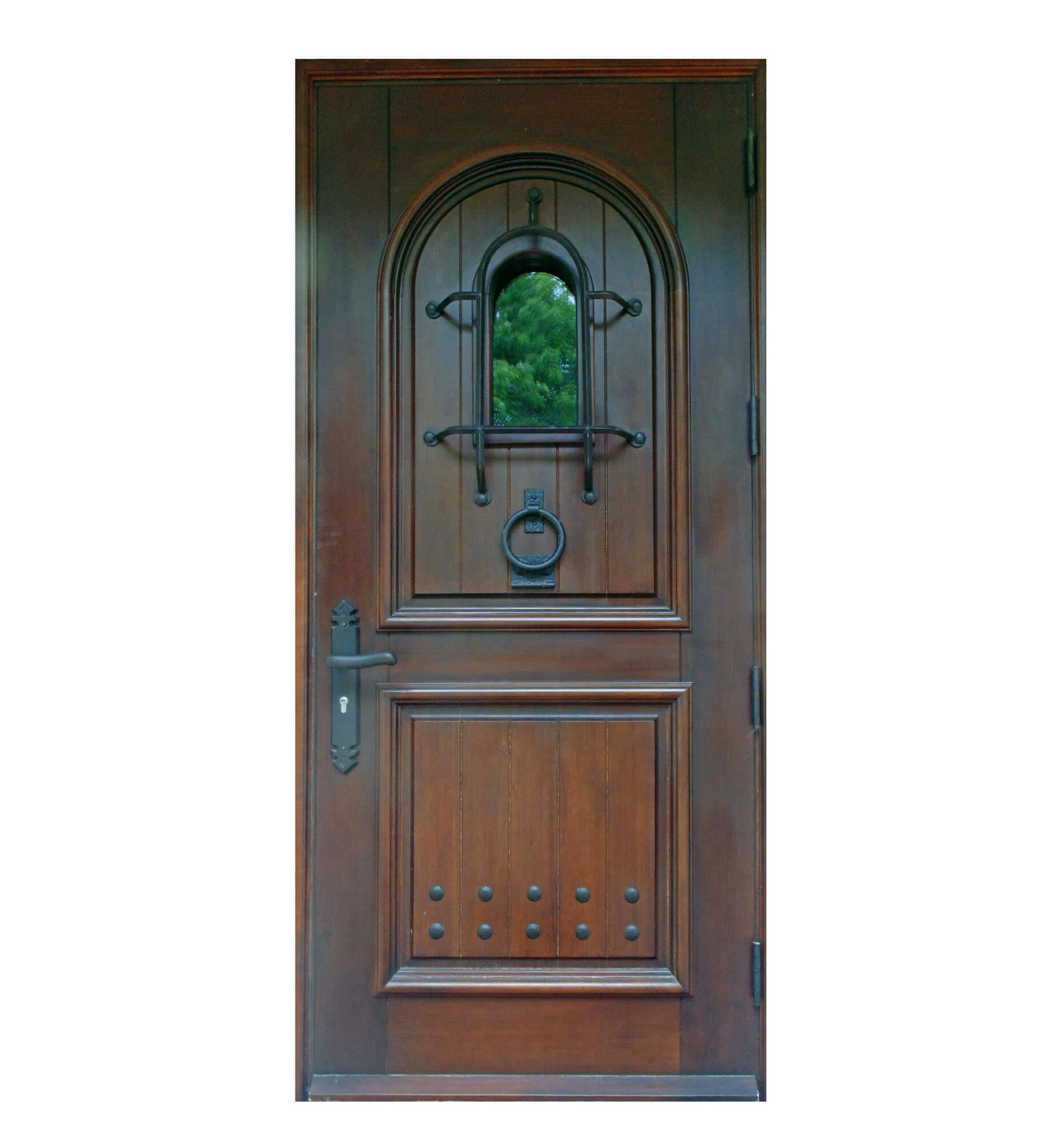 ALTON ROAD MAHOGANY FRONT DOOR.