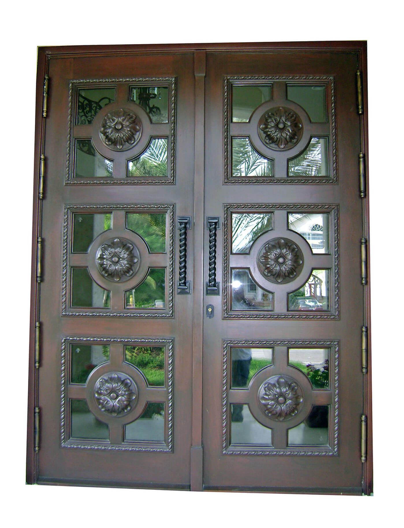 Frt. Myers Mahogany Carved Door