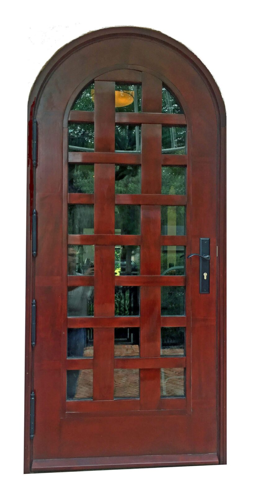 Hillsboro Beach Mahogany Front Doors