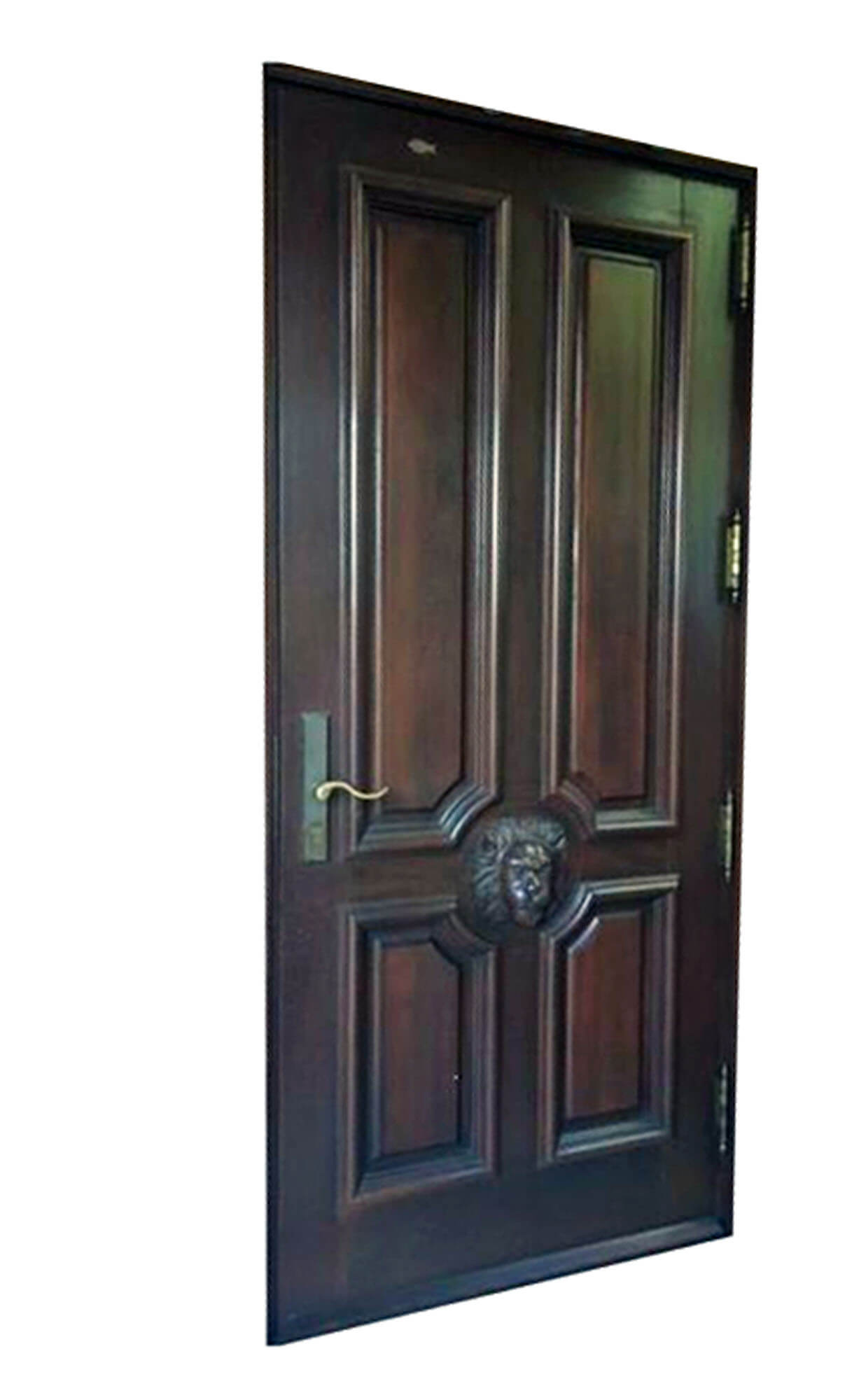 LION CARVED DOOR