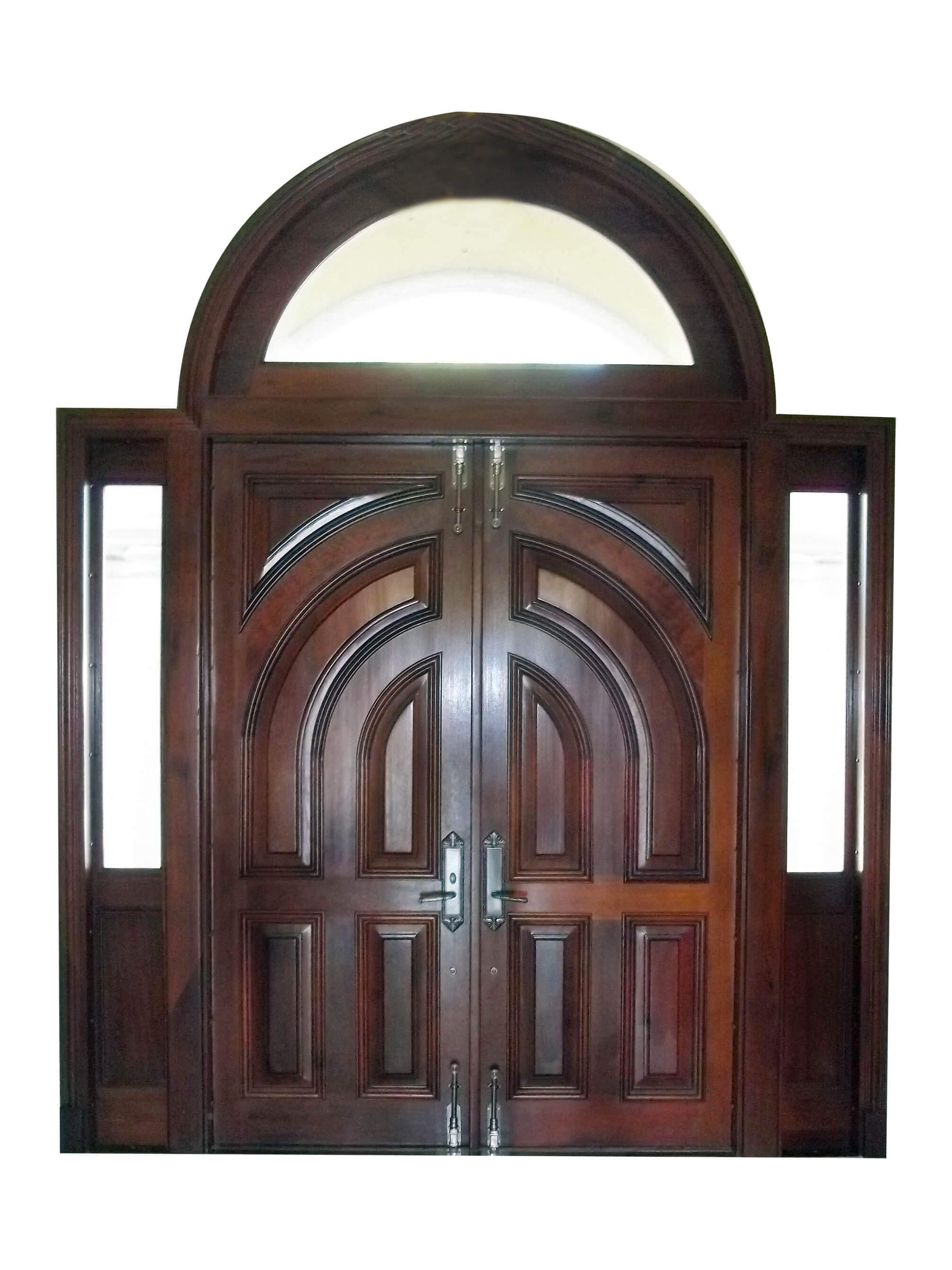 MARATHON KEY MAHOGANY ENTRY DOORS INTERIOR