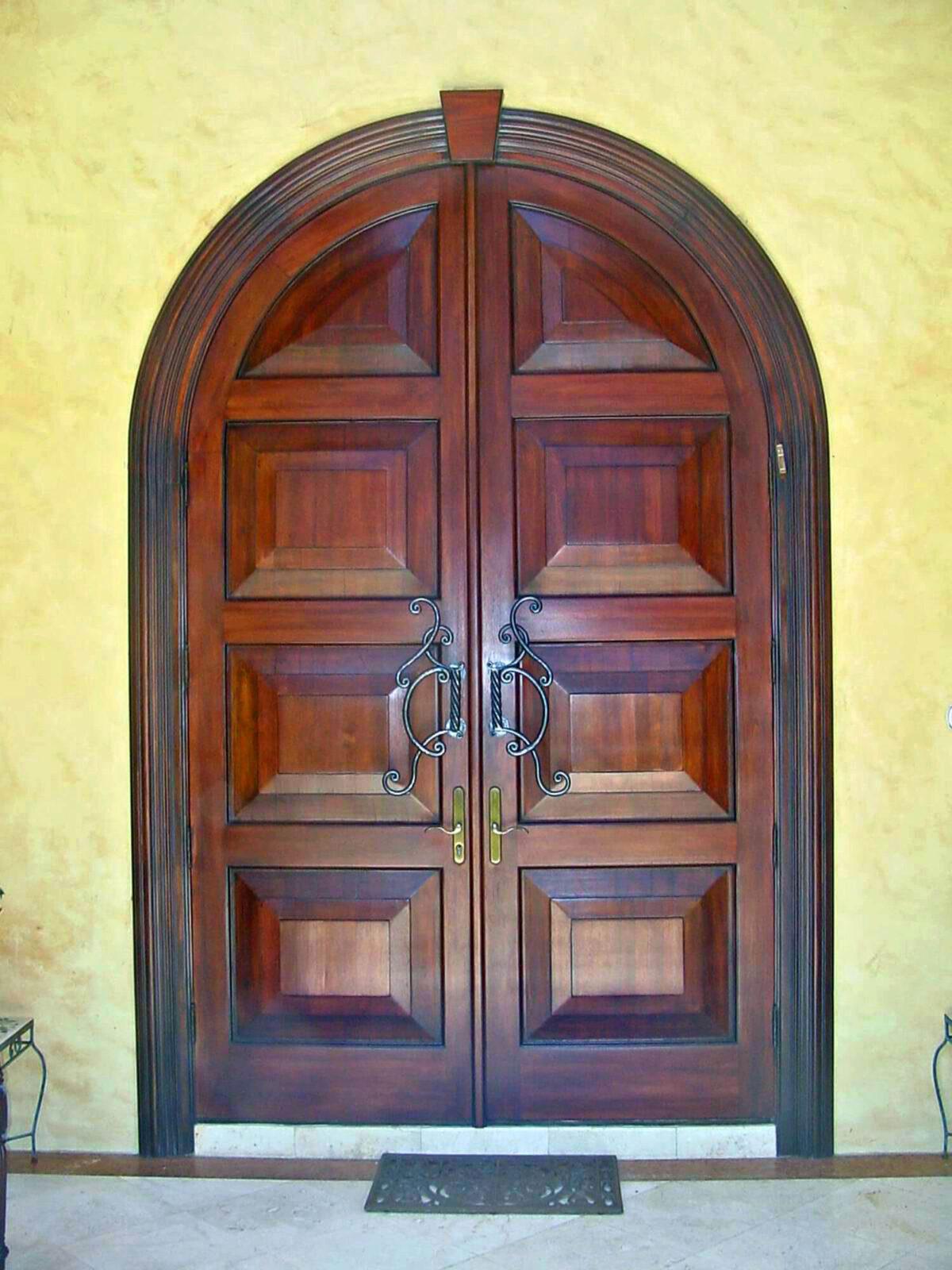 MARGATE MAHOGANY ENTRY DOORS.