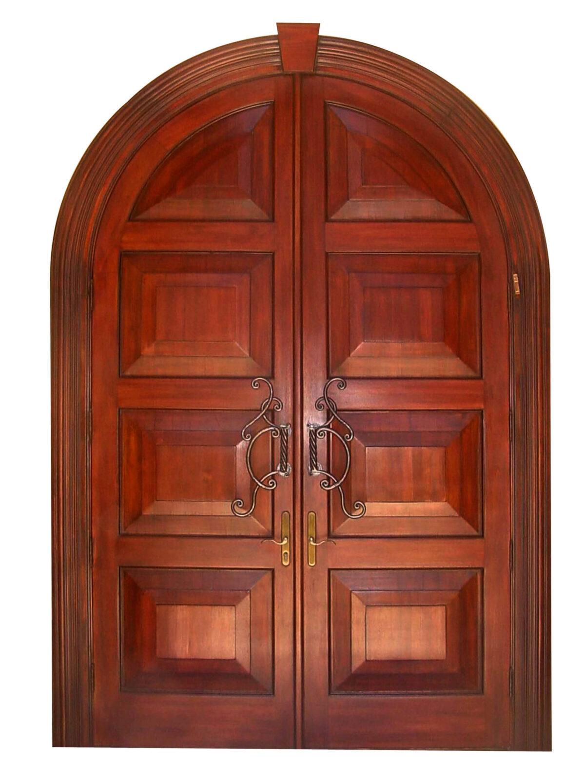NAPLES MAHOGANY EXTERIOR DOOR.