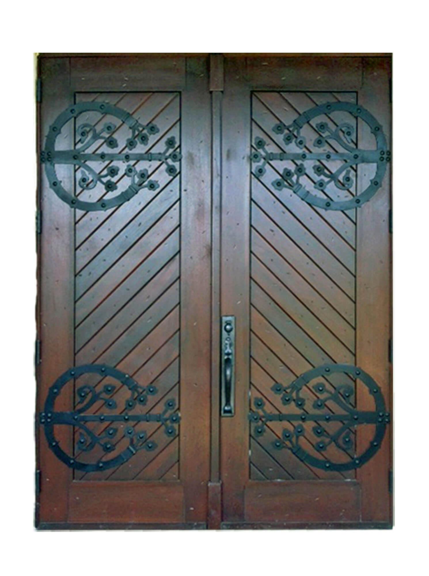 New Orleans Mahogany Exterior Doors