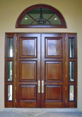 Palmetto Bay Village Mahogany Entrance Doors