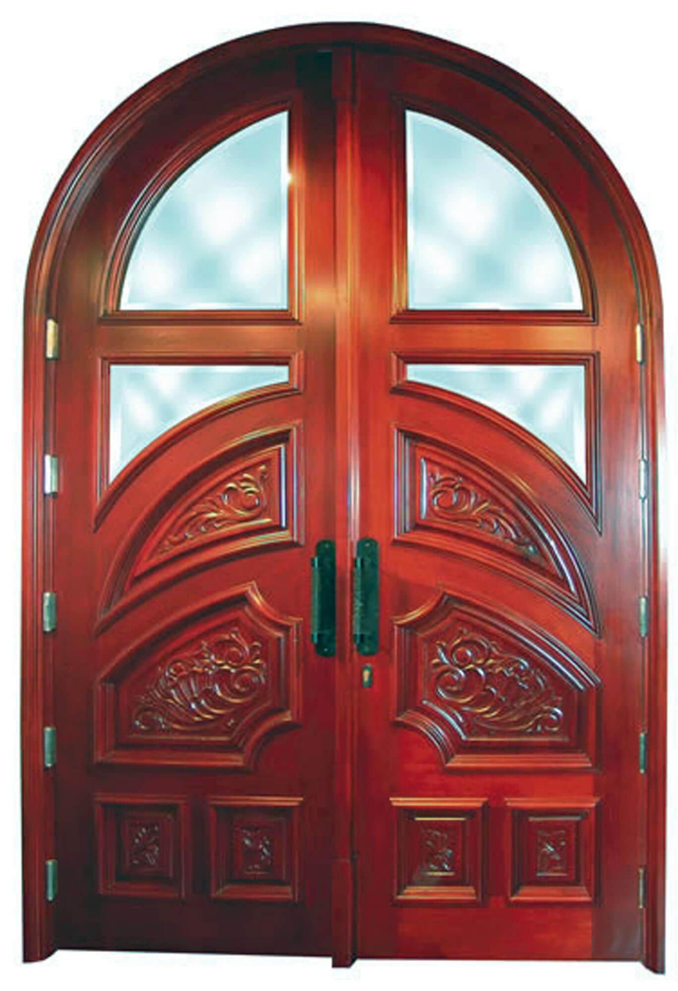 Pensacola Mahogany Entrance Doors
