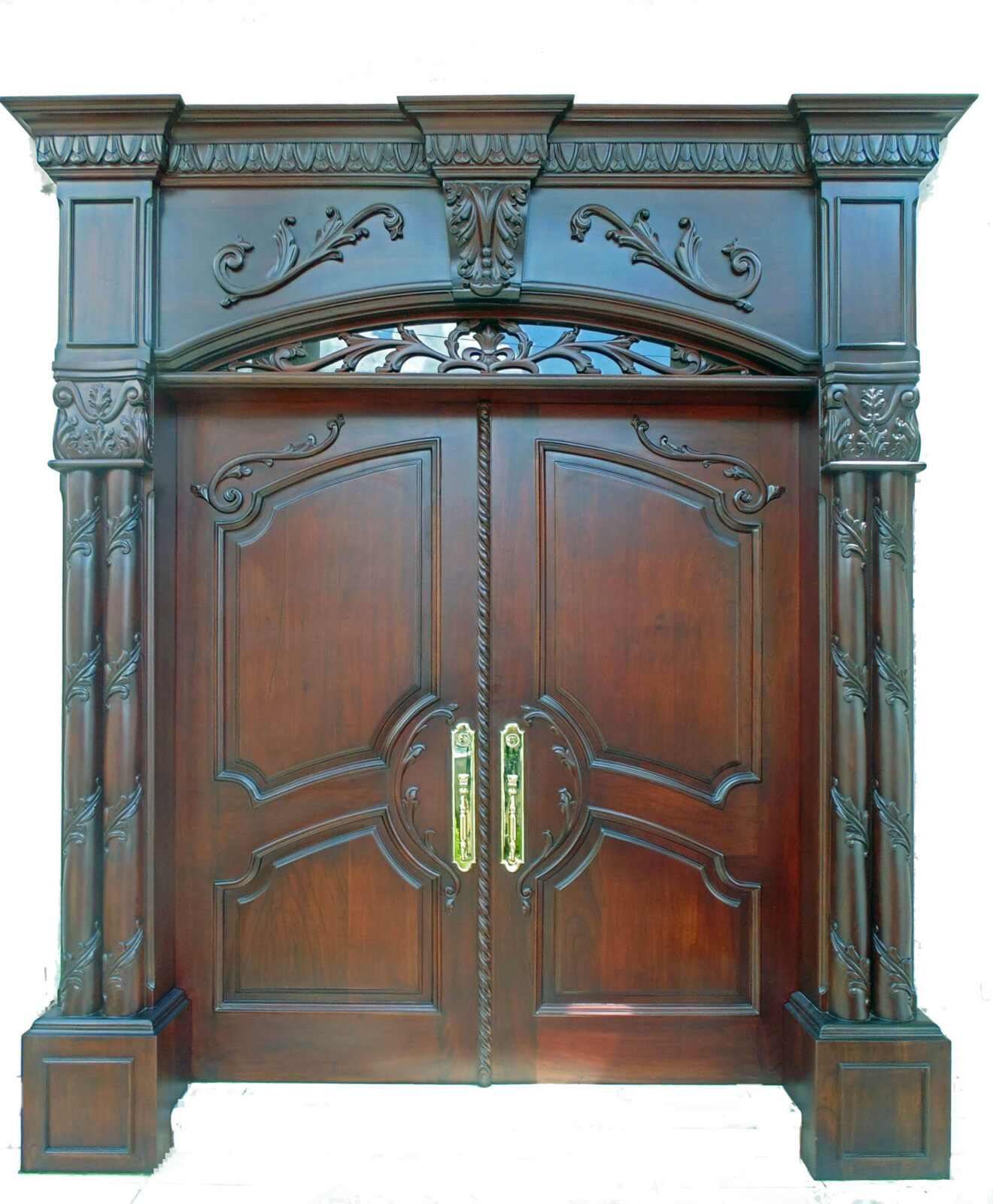 PORT ST. LUCIE. MAHOGANY EXTERIOR DOOR.