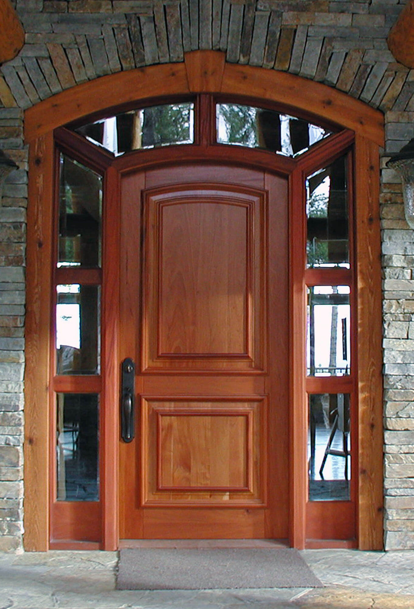 ROCKY MOUNTAIN MAHOGANY DOOR.