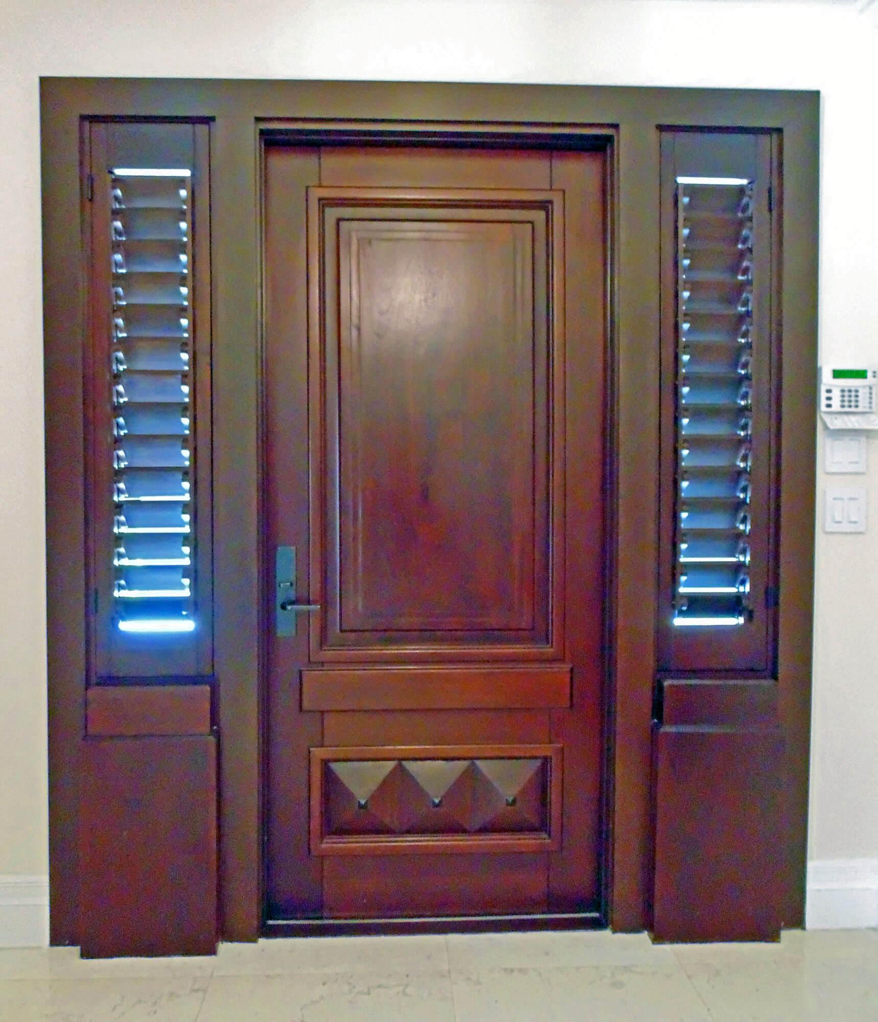 SOUTH MIAMI ENTRANCE DOOR INTERIOR