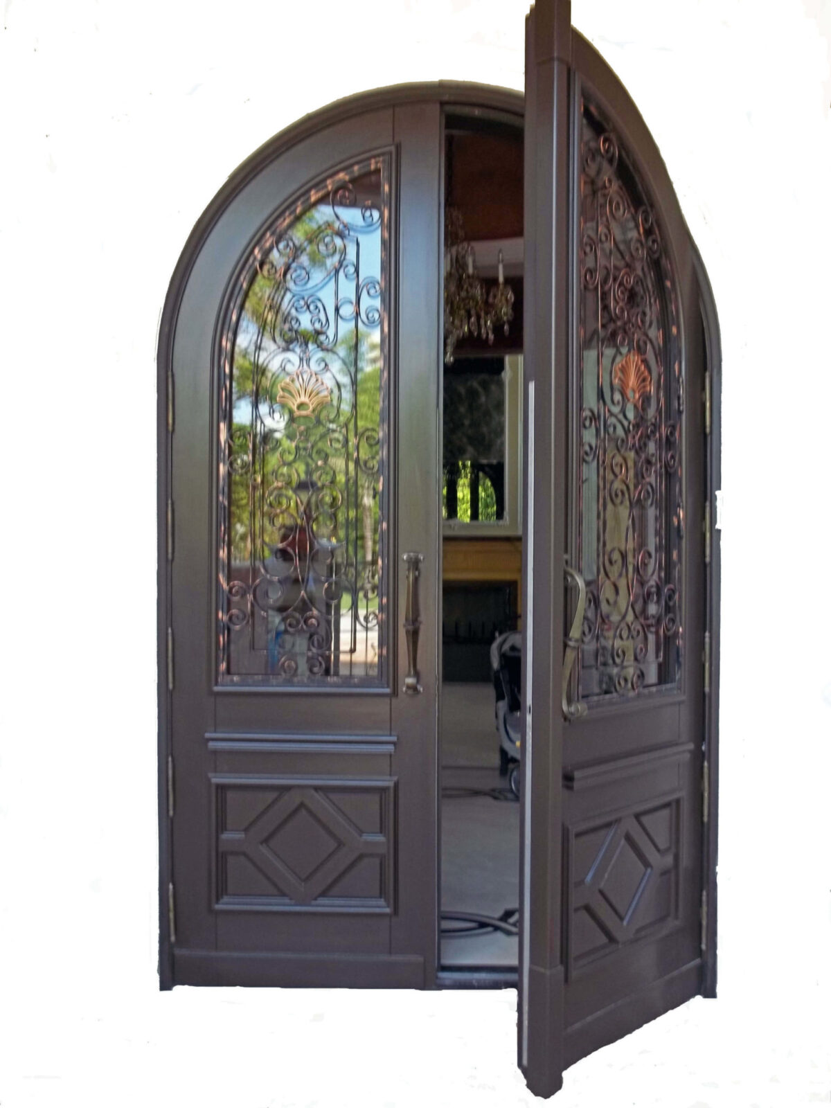 SUNNY ISLES. MAHOGANY EXTERIOR DOORS