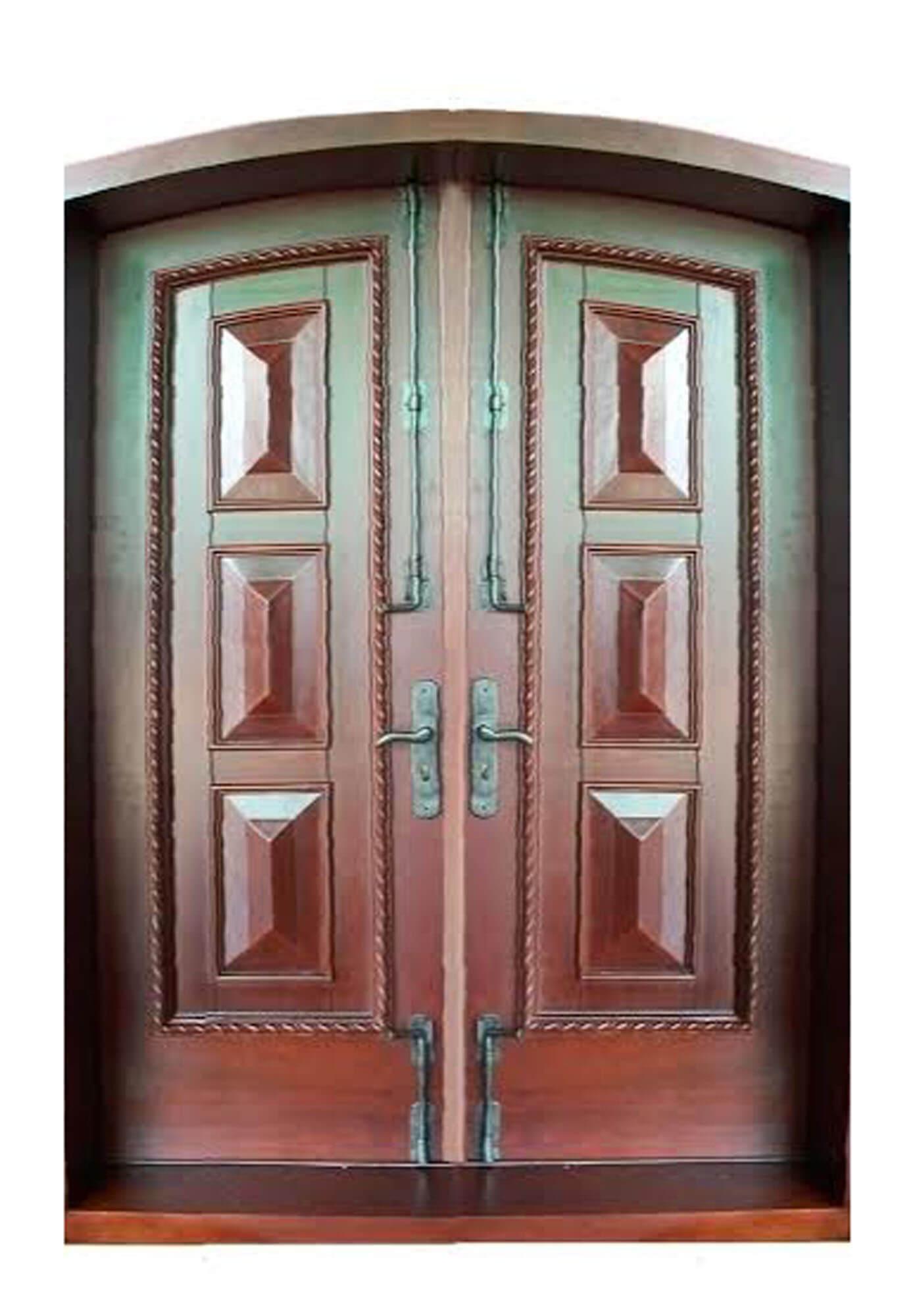 WELLINGTON MAHOGANY ENTRY DOOR