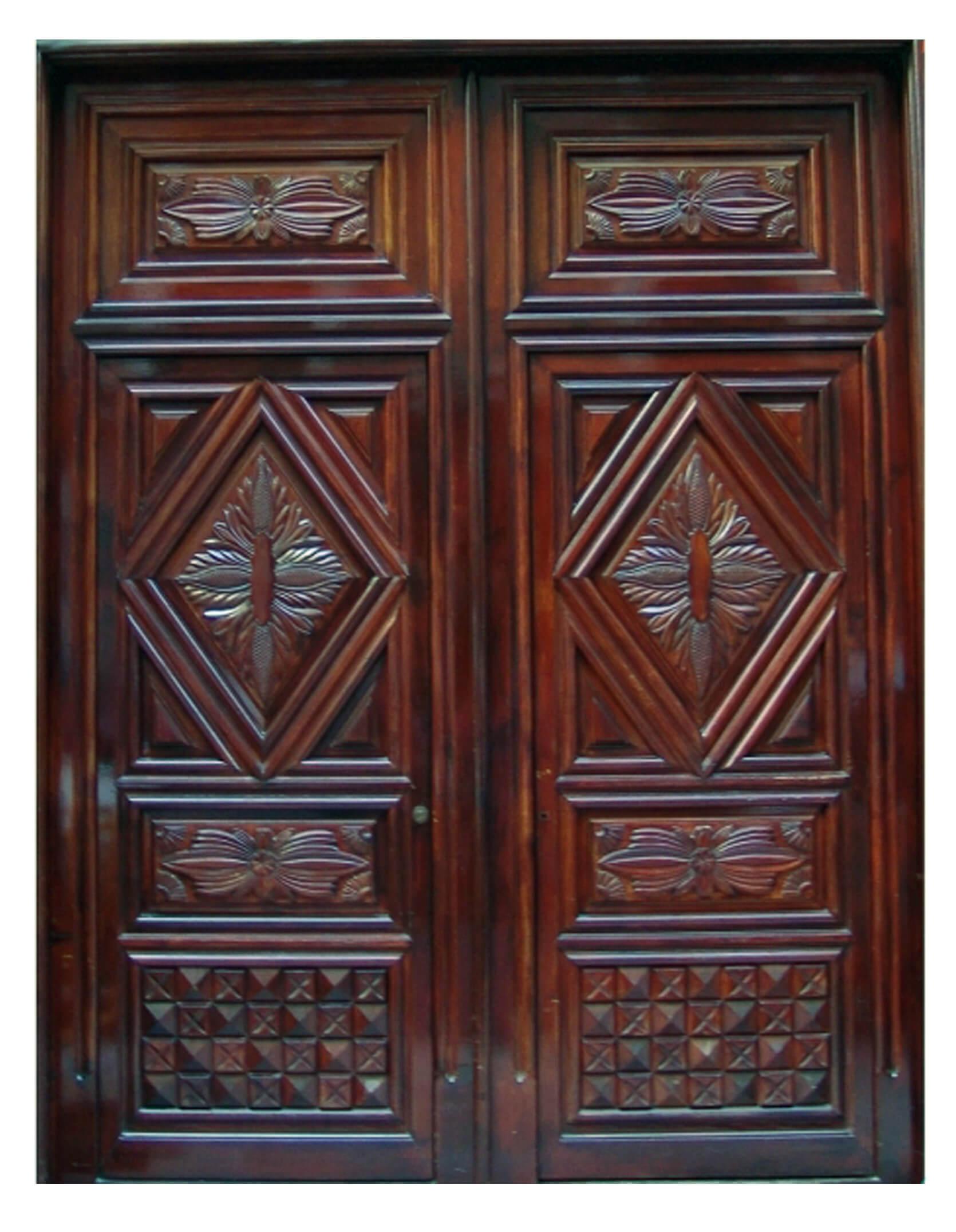 Boston Mahogany Door