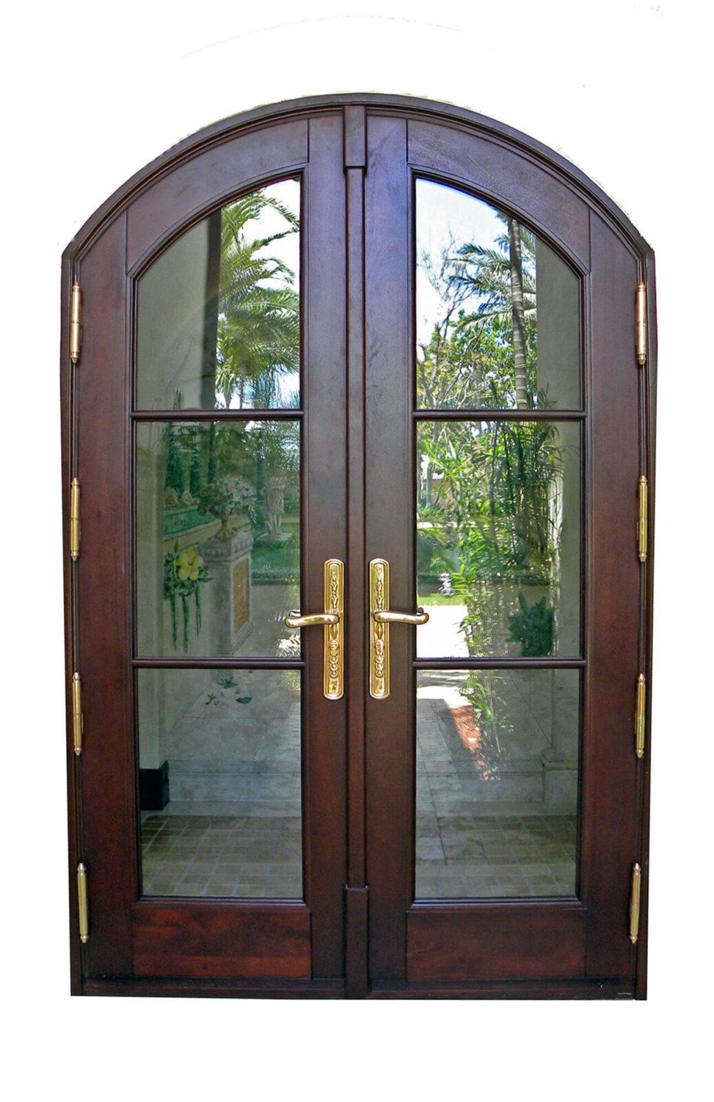 LAS OLAS MAHOGANY FRENCH DOOR.