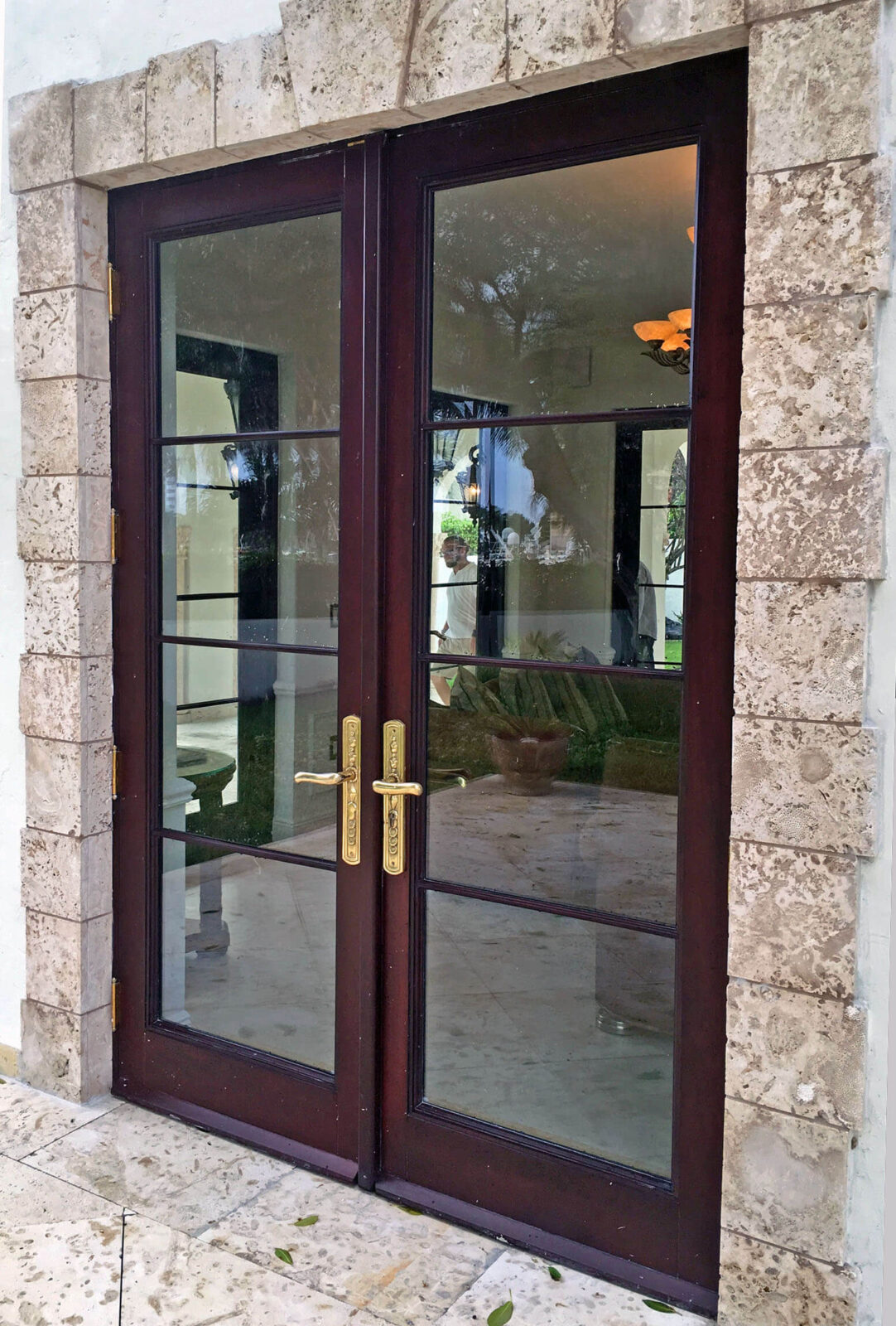MIAMI BEACH FRENCH DOOR.