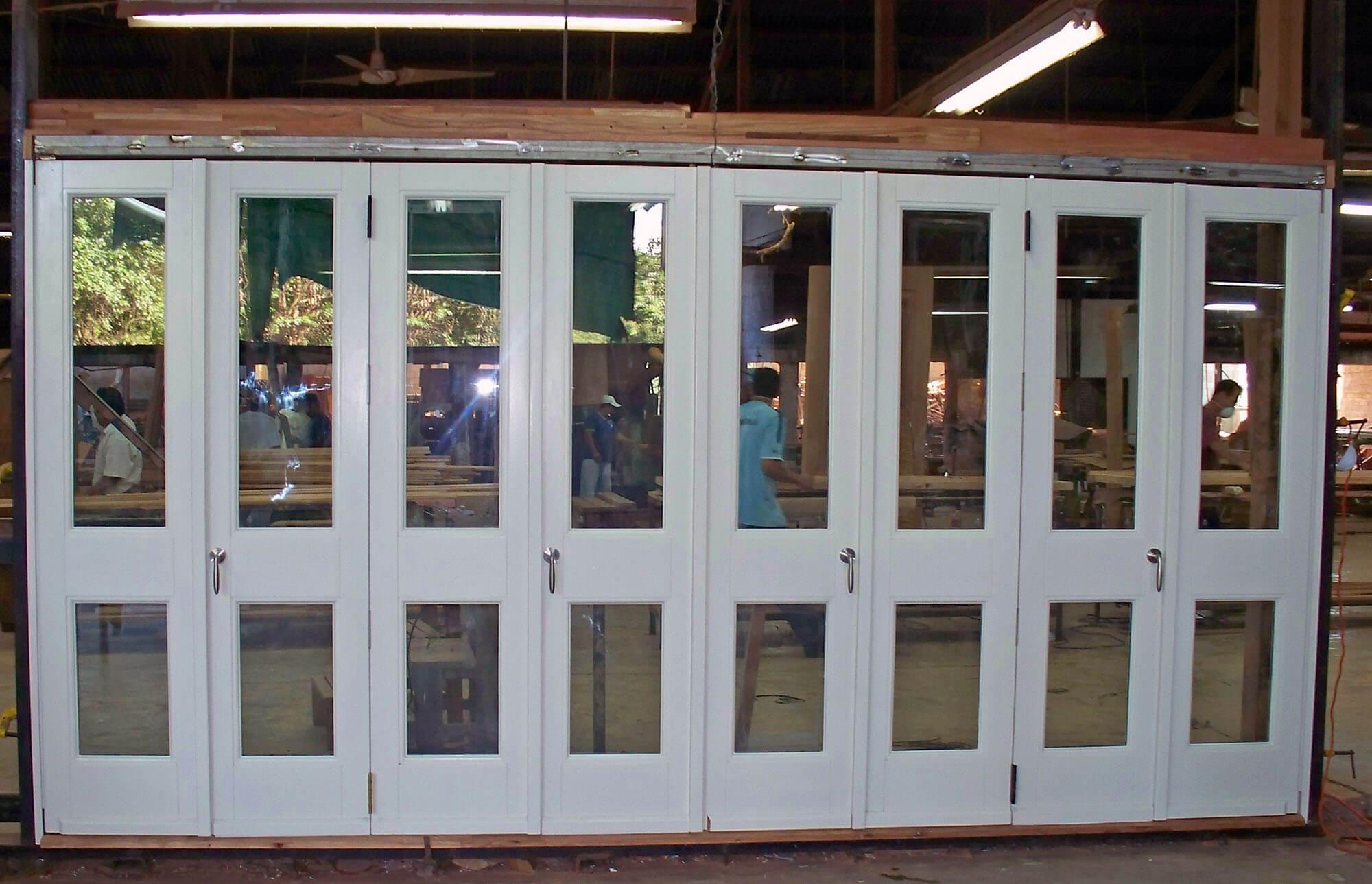 Barbados Folding Doors