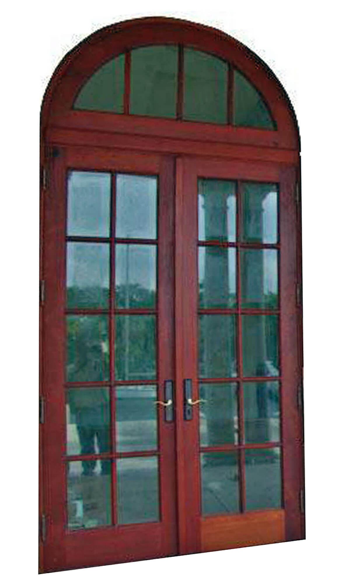 GABLES ESTATES MAHOGANY PATIO DOORS.