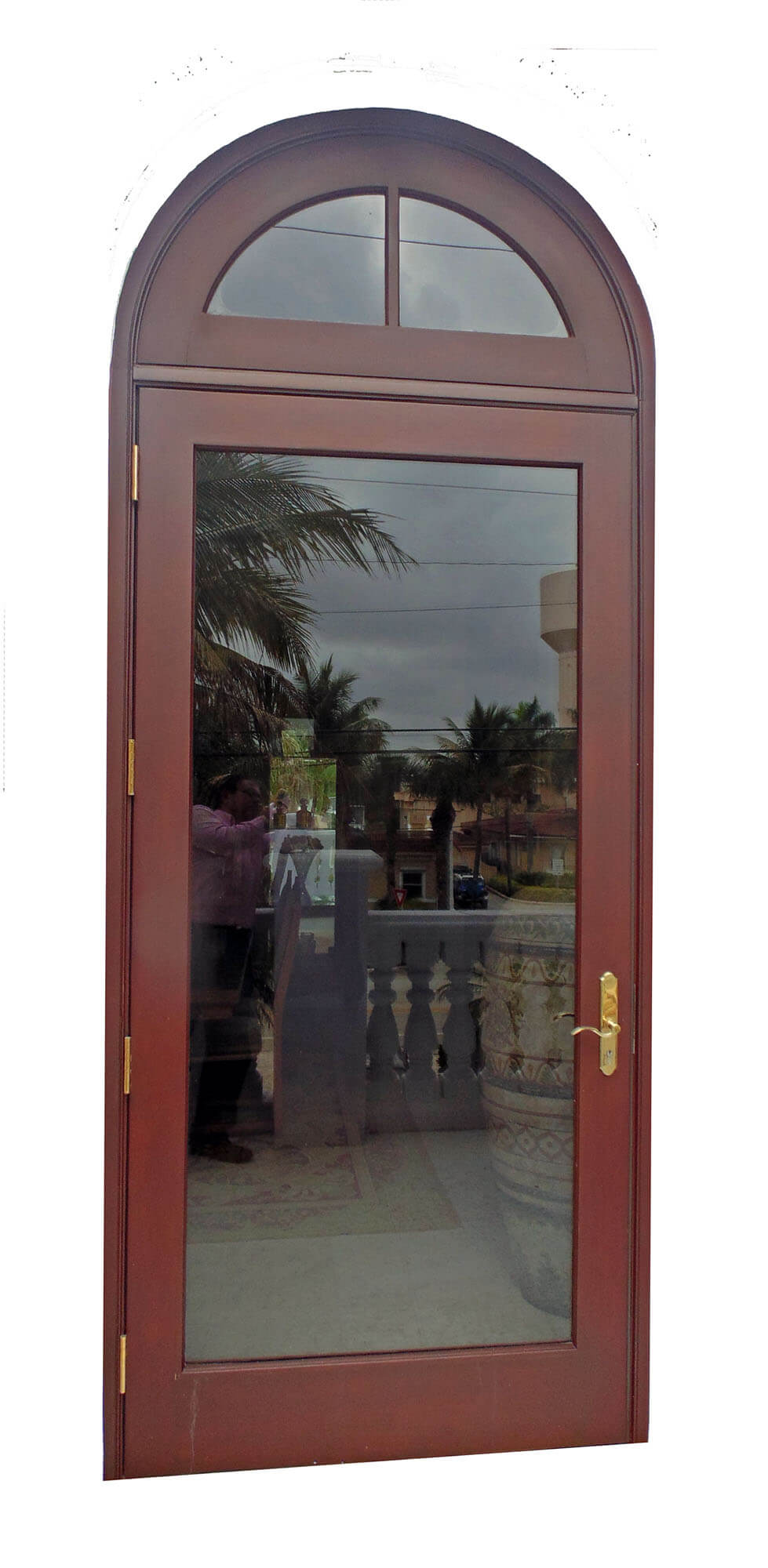 HIGHLAND BEACH GLASS DOOR.