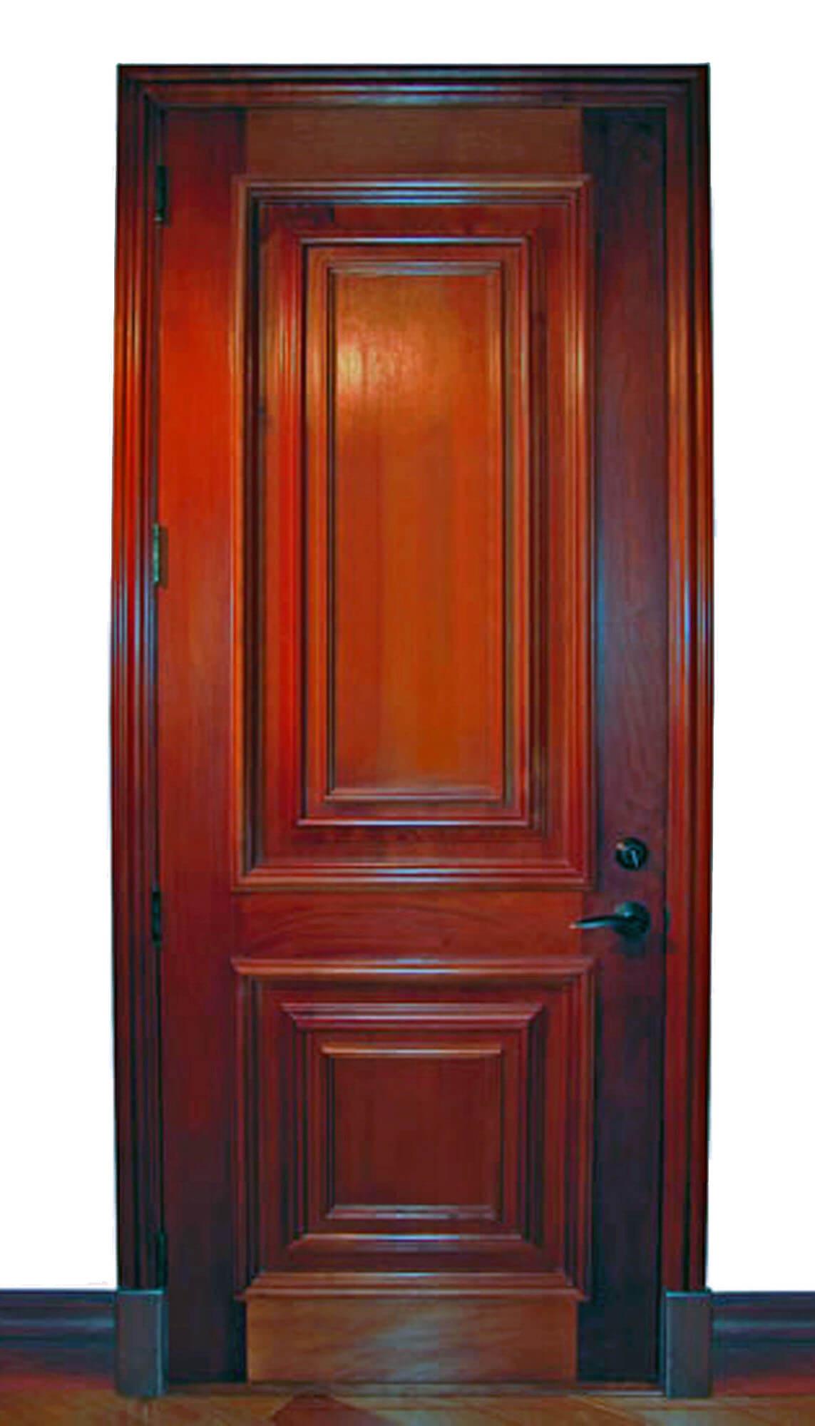 KING MAHOGANY DOOR.