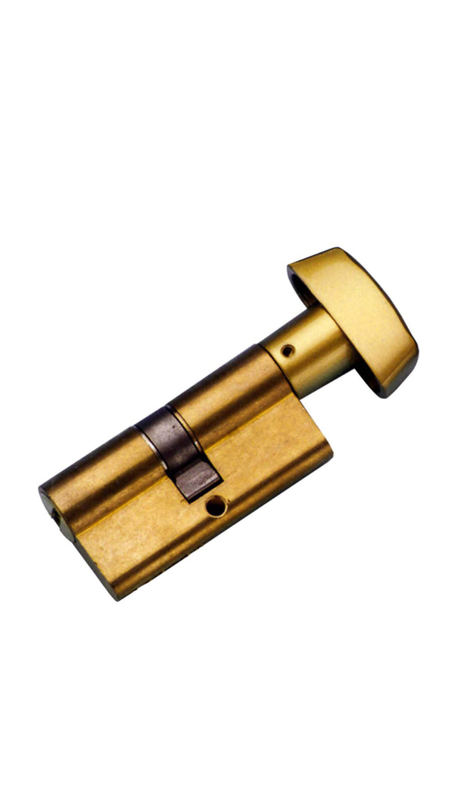 CYLINDER KEY AND THUMB TURN.